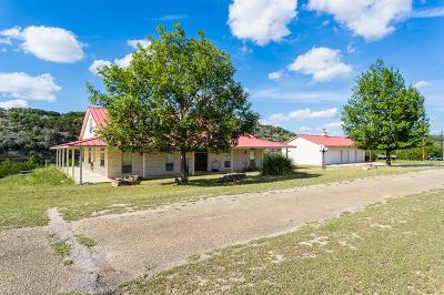 Gillespie County, Kerr County, Kimble County, Bandera County, Real County, Edwards County, Mason County, Uvalde County, Medina County, Kendall County Farm For Sale: 151 Bluff Hill Rd