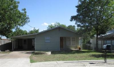 Kerrville Single Family Home For Sale: 327 Guadalupe St