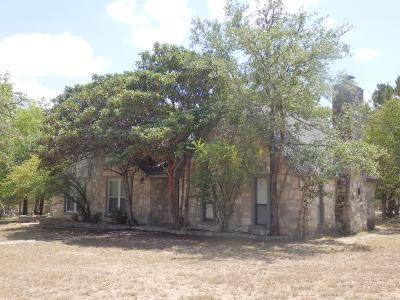 Kerrville Single Family Home For Sale: 144 Valley View Dr