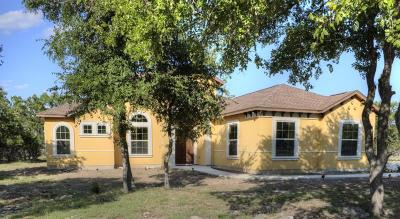 Bandera Single Family Home For Sale: 1109 Buckskin Trail