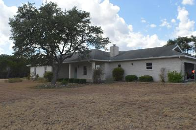 Kerrville Single Family Home For Sale: 6 Cedar Ridge
