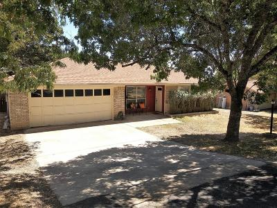 Kerrville Single Family Home For Sale: 403 Earl Dr