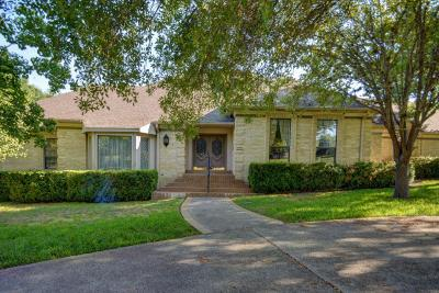 Kerrville Single Family Home For Sale: 301 Riverhill Blvd