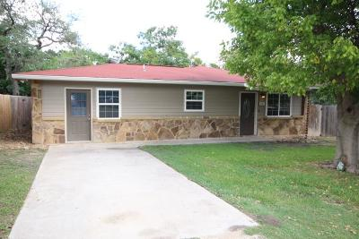 Comfort Single Family Home For Sale: 103 Live Oak Circle