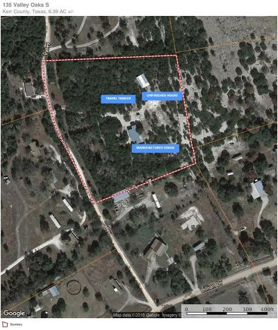Kerrville Single Family Home For Sale: 135 Valley Oaks