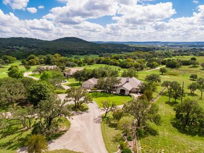 Kerrville TX Single Family Home For Sale: $2,750,000