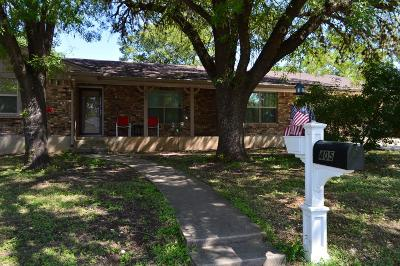 Gillespie County, Kerr County, Kimble County, Bandera County, Real County, Edwards County, Mason County, Uvalde County, Medina County, Kendall County Single Family Home For Sale: 405 Manor Dr