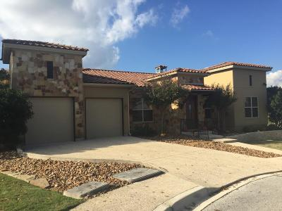 Kerrville Single Family Home For Sale: 2128 Toscano Way