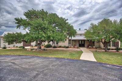 Single Family Home For Sale: 550 Hidden Hills Ranch Rd