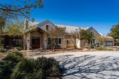 Kerrville Single Family Home For Sale: 586 Whiskey Canyon