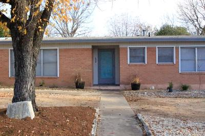 Kerrville Single Family Home For Sale: 1030 Jackson Rd