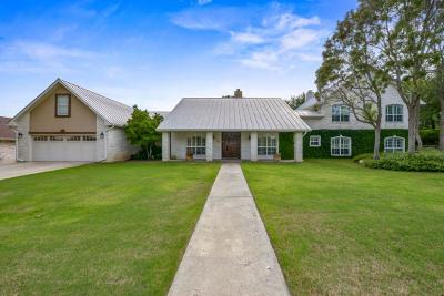 Kerrville Single Family Home For Sale: 1031 Bluebell Rd