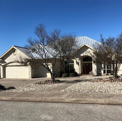 Kerrville Single Family Home For Sale: 2036 Crown View Dr