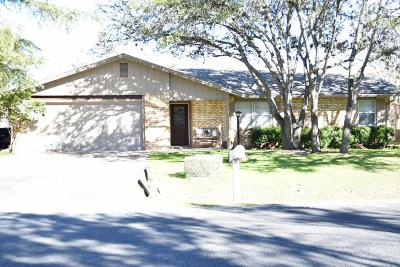 Kerrville Single Family Home For Sale: 165 Valley View Dr