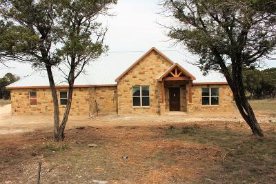 Kerrville Single Family Home For Sale: 651 San Juan Mission S
