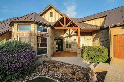 Kerrville Single Family Home For Sale: 3412 Trace Circle