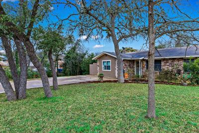 Kerrville Single Family Home For Sale: 1101 Lake Dr
