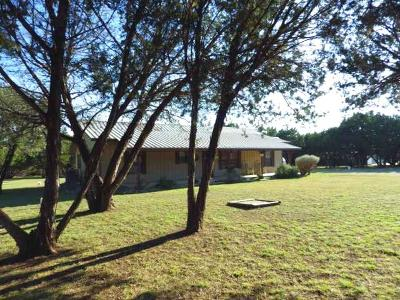 Leakey TX Single Family Home For Sale: $249,000