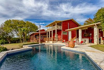 Kerrville TX Single Family Home For Sale: $749,900