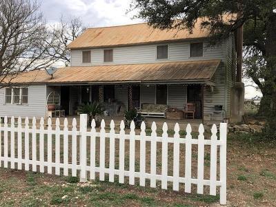 Harper Single Family Home For Sale: 1848 FM 479