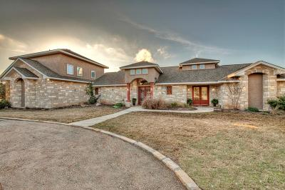 Kerrville Single Family Home For Sale: 1800 Landmark Lane