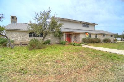 Mountain Home TX Single Family Home For Sale: $489,000