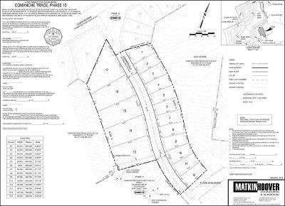 Kerrville Residential Lots & Land For Sale: 1015 Comanche Hills Dr