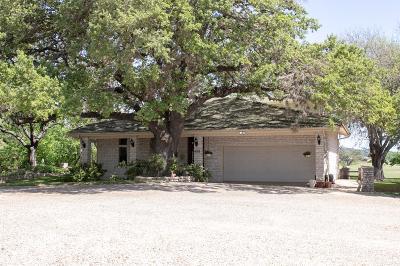 Kerrville Single Family Home For Sale: 625 Rock Creek Loop