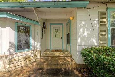 Fredericksburg Single Family Home For Sale: 326 Hackberry St