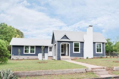 Kerrville Single Family Home For Sale: 901 Wheless Ave