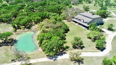 Kerrville Single Family Home For Sale: 8735 Ranch Rd 783