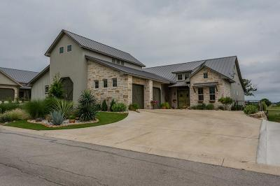 Kerrville Single Family Home For Sale: 3200 #9 Pinnacle Club Dr