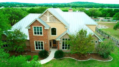 Spring Branch TX Single Family Home For Sale: $529,500