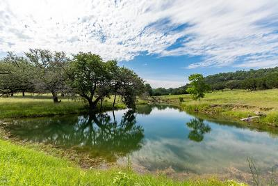 Gillespie County, Kerr County, Kimble County, Bandera County, Real County, Edwards County, Mason County, Uvalde County, Medina County, Kendall County Farm For Sale: 986 Bear Creek Rd