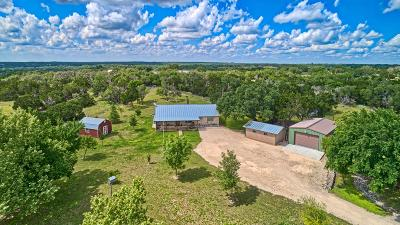 Gillespie County, Kerr County, Kimble County, Bandera County, Real County, Edwards County, Mason County, Uvalde County, Medina County, Kendall County Single Family Home For Sale: 262 Broken Spur