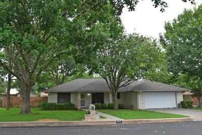 Fredericksburg Single Family Home For Sale: 212 Edgewood Dr