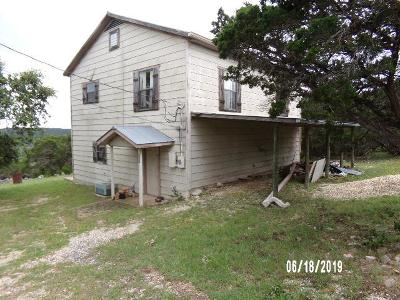 Hunt TX Single Family Home For Sale: $57,000