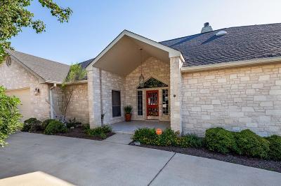 Kerrville Single Family Home For Sale: 1836 Foothills Dr