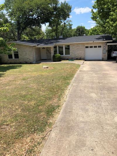 Kerrville Single Family Home For Sale: 1533 Glen Rd
