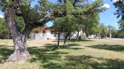 Kerrville TX Single Family Home For Sale: $165,000
