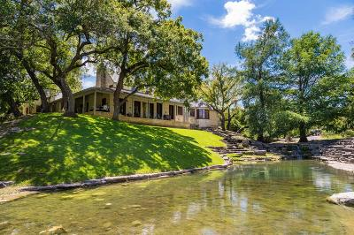 Kerrville Single Family Home For Sale: 1144 Fall Creek Rd