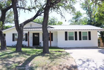 Kerrville Single Family Home For Sale: 1701 Deer Trail