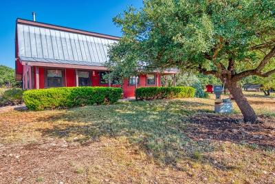 Harper Single Family Home For Sale: 1900 Stapp Ranch Rd