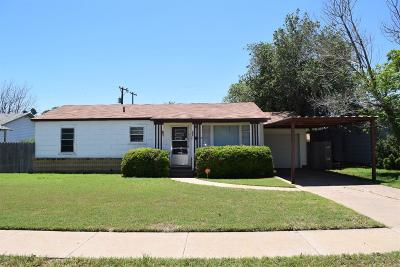 Lubbock TX Single Family Home Sold: $85,000