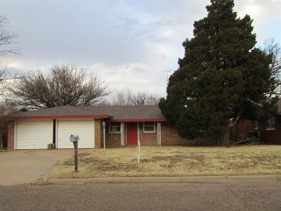 Littlefield Single Family Home For Sale: 1416 Cherry Blossom