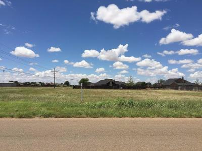 Lubbock TX Residential Lots & Land Under Contract: $33,000