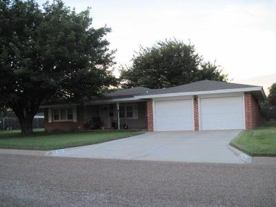 Littlefield Single Family Home Under Contract: 801 Crescent Drive