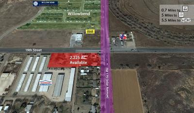 Lubbock Commercial For Sale: 8701 19th Street