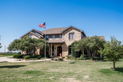 Slaton TX Single Family Home For Sale: $540,000