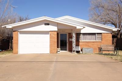 Levelland Single Family Home For Sale: 203 Cactus Drive